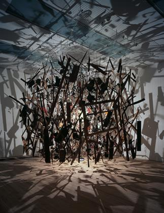 Cornelia Parker, Cold Dark Matter An Exploded View, 1991, Tate.jpg